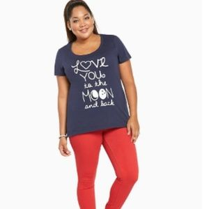 LOVE MOON SCOOP TEE